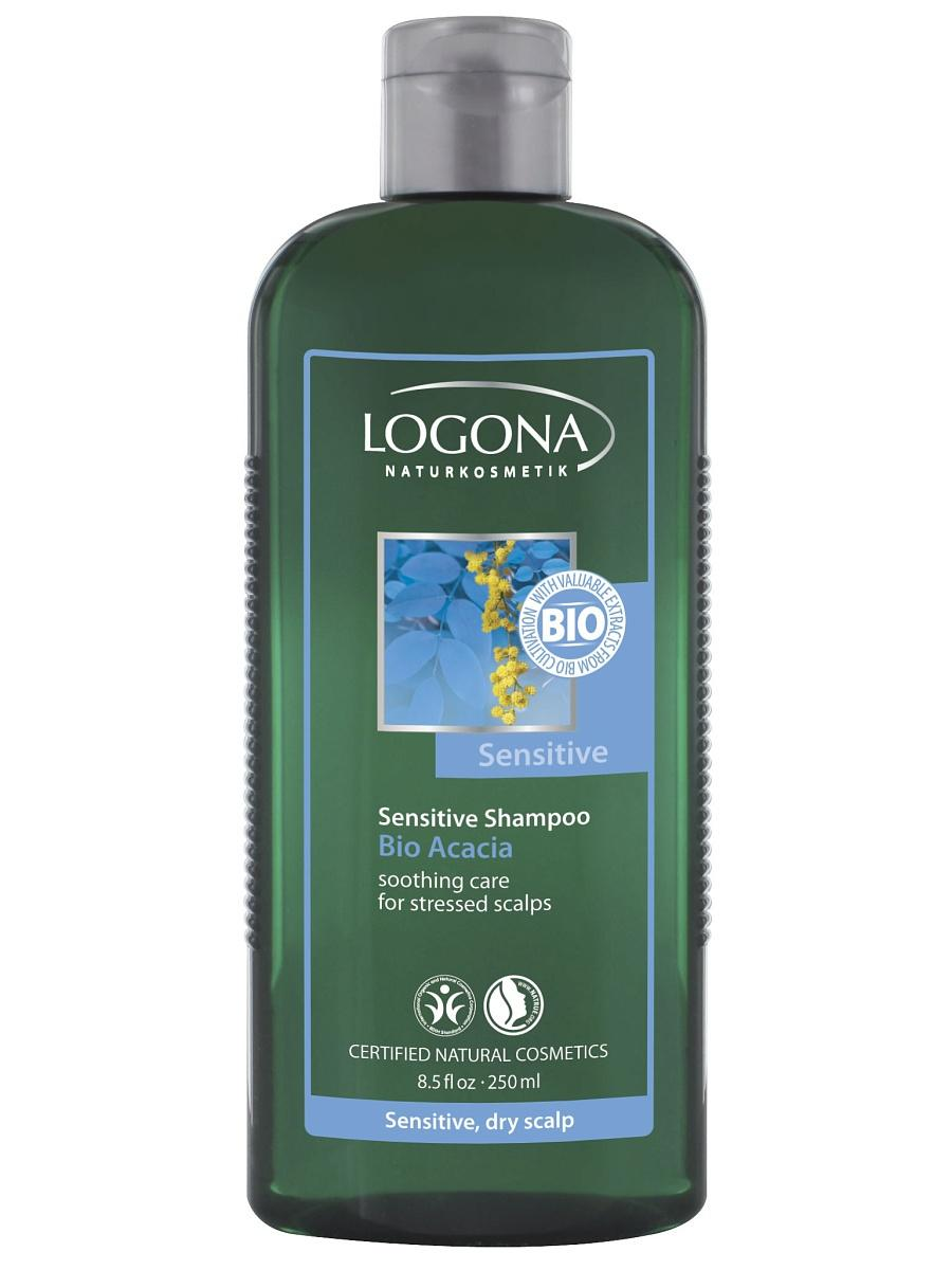 Sensitive šampoon Bio Acacia Logona, 250 ml