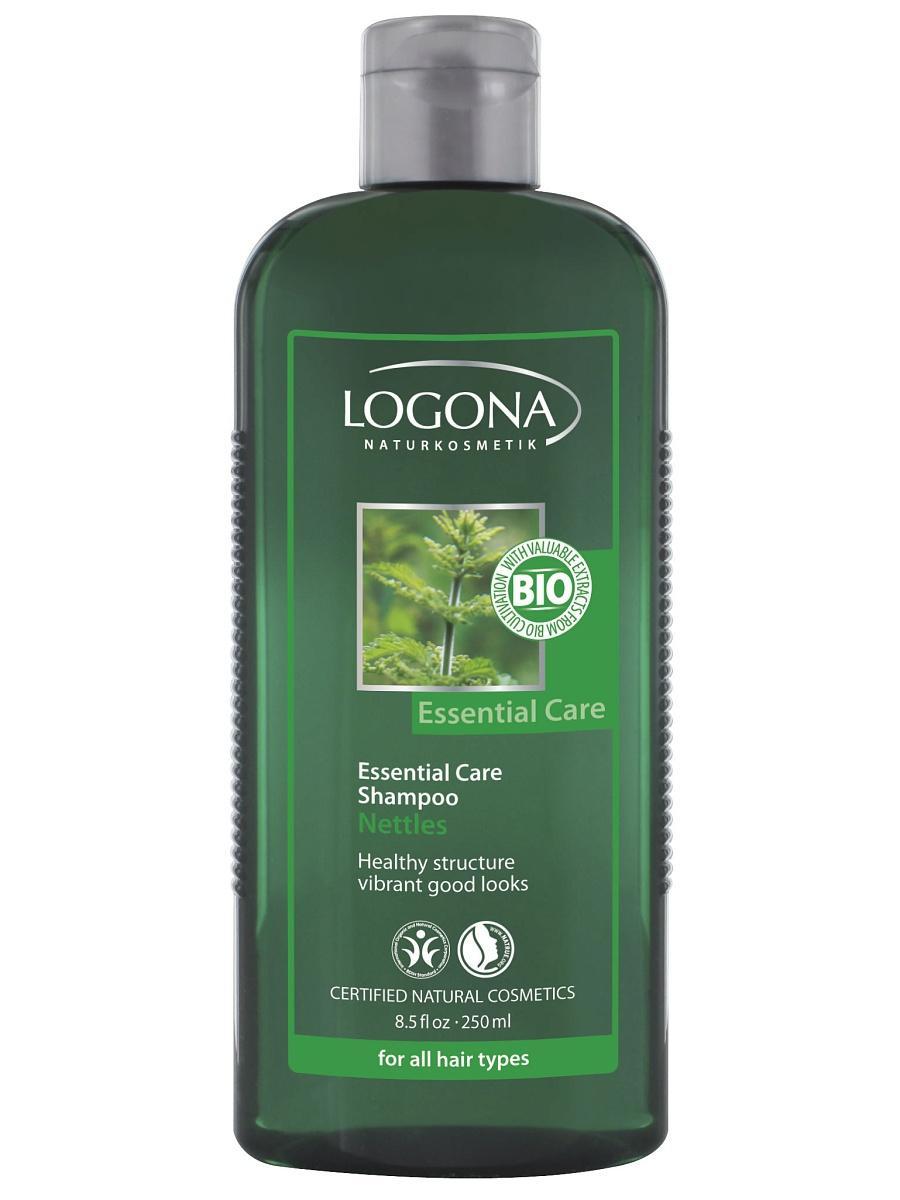 Essential Care šampoon nõgesega igapäevaseks kasutamiseks Logona, 250 ml