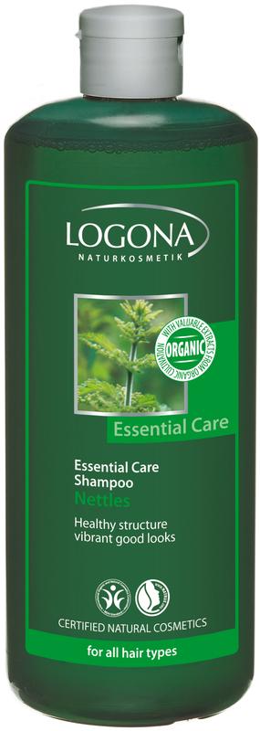 Essential Care šampoon nõgesega igapäevaseks kasutamiseks Logona, 500 ml