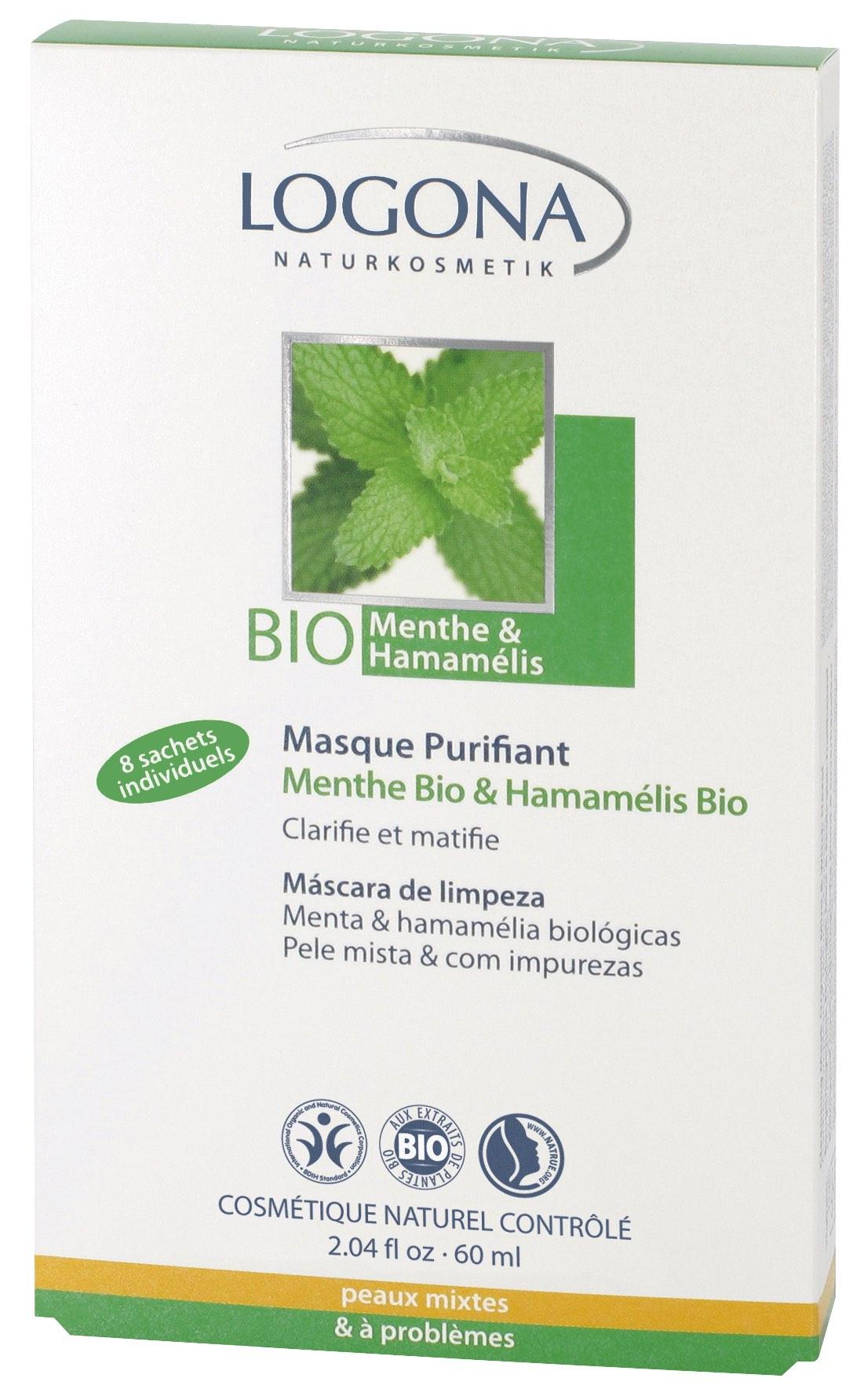 Clear Skin piparmündi antibakteriaalne pulk Logona, 6 ml