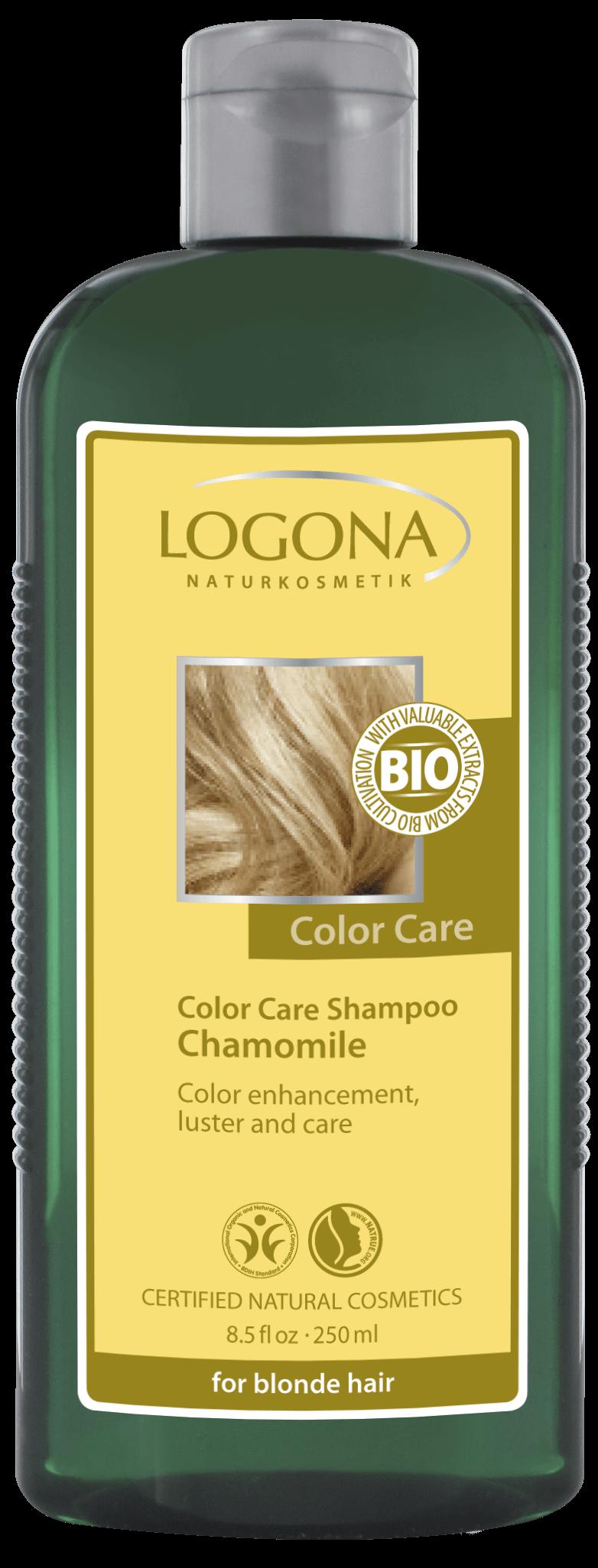 Värvihooldusšampoon kummel blondidele juustele Logona, 250 ml