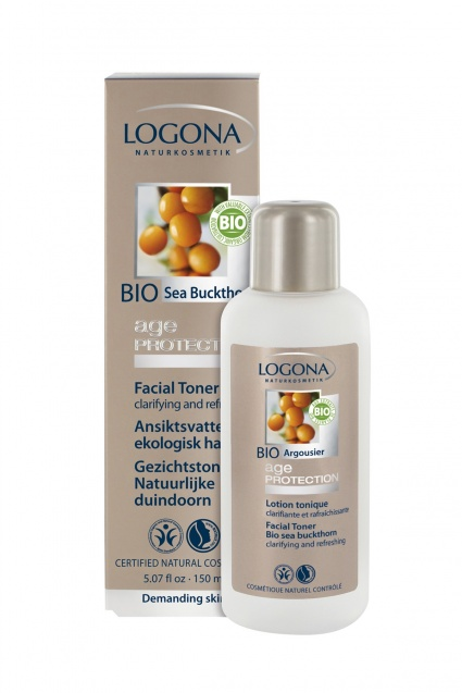 Näovesi astelpajuga Age Protection Logona, 250 ml