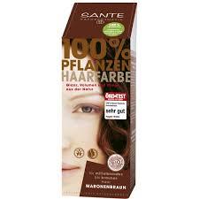 Pure Herbal juuksevärv kastanpruun Sante, 100 g