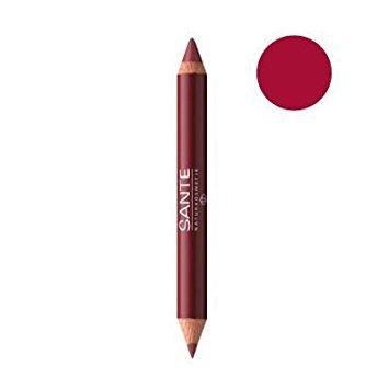 Värv + kontuur kahepoolne huulepliiats Glamorous 03 Sante, 4 g