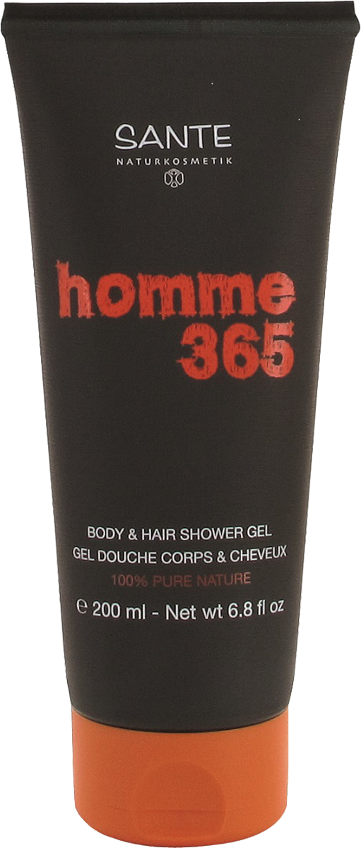 Homme 365 dušigeel Body & Hair meestele Sante, 200 ml
