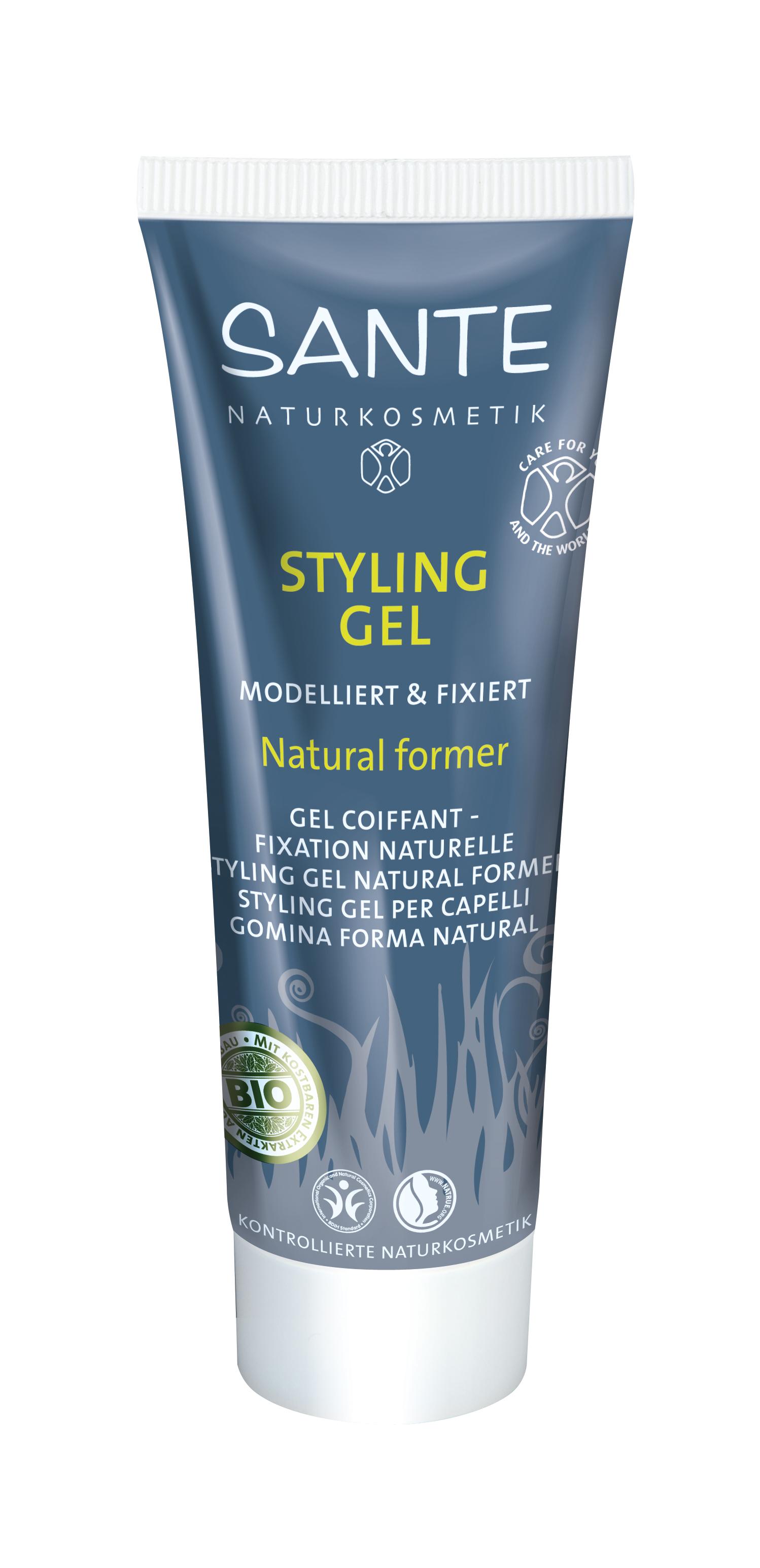 Juuksegeel Natural Form Sante, 50 ml