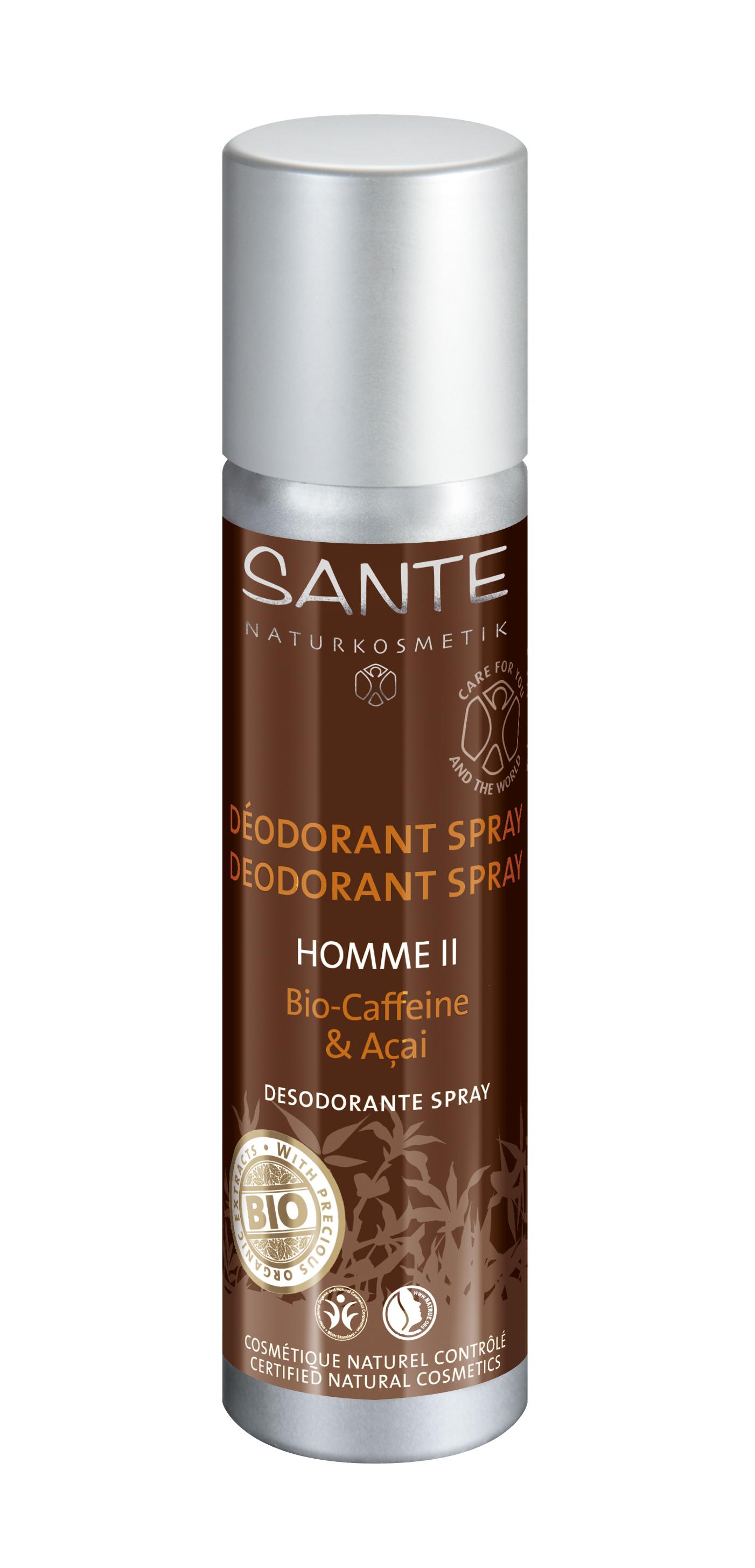 Homme II deodorant-sprei Sante, 100 ml