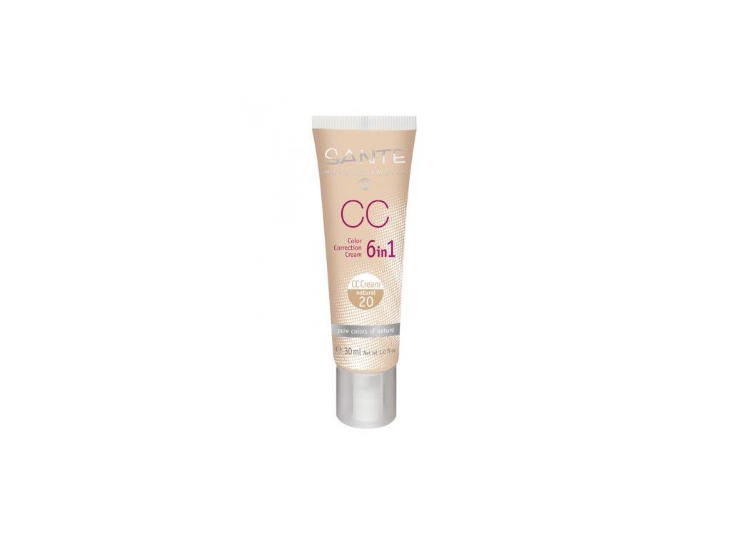 CC kreem 20 Natural Sante, 30 ml
