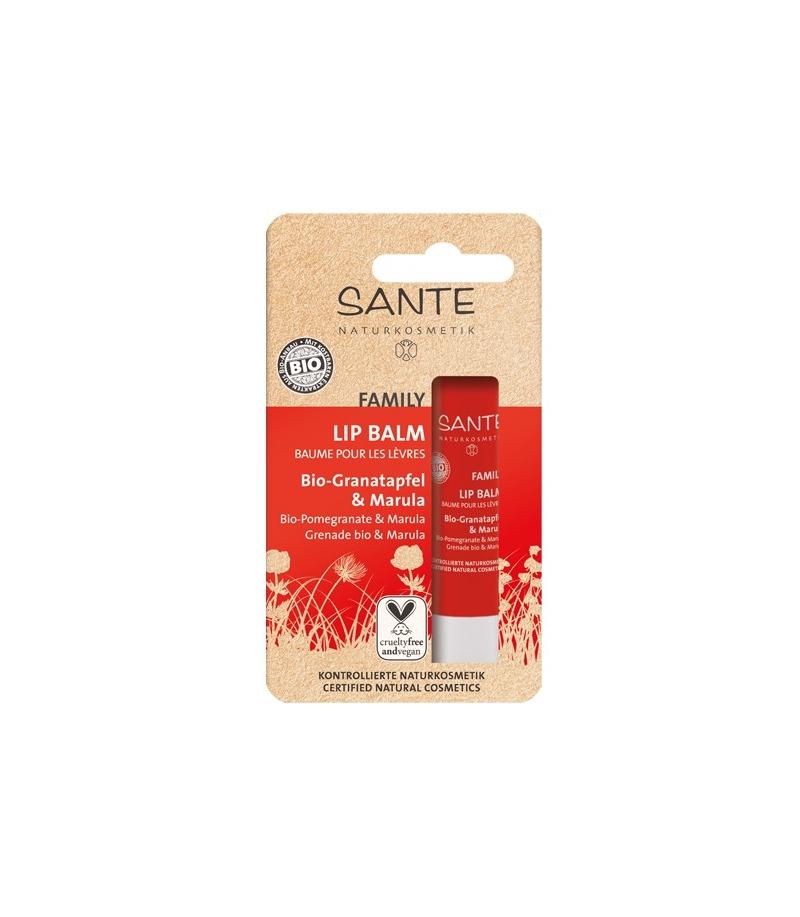 Marula ja granaatõuna huulepalsam Sante, 4,5 gr