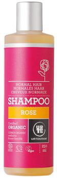 Roosi šampoon normaalsetele juustele Urtekram, 250 ml