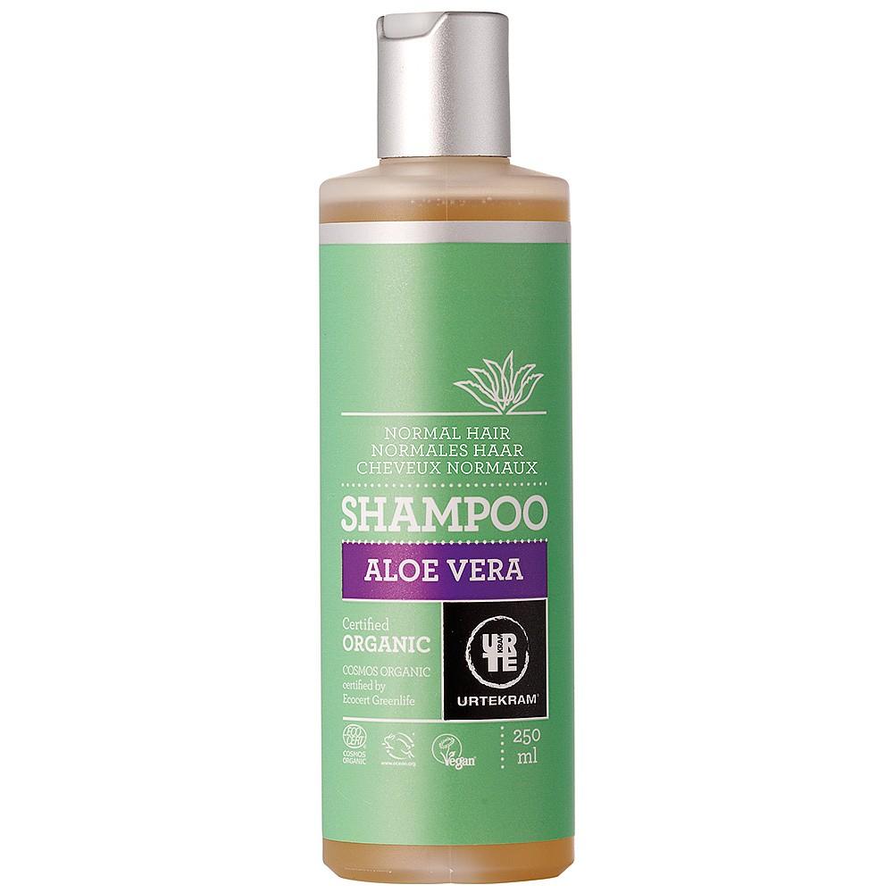 Aloe Vera šampoon normaalsetele juustele Urtekram, 250 ml