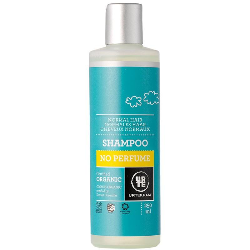 Parfüümivaba šampoon normaalsetele juustele Urtekram, 250 ml