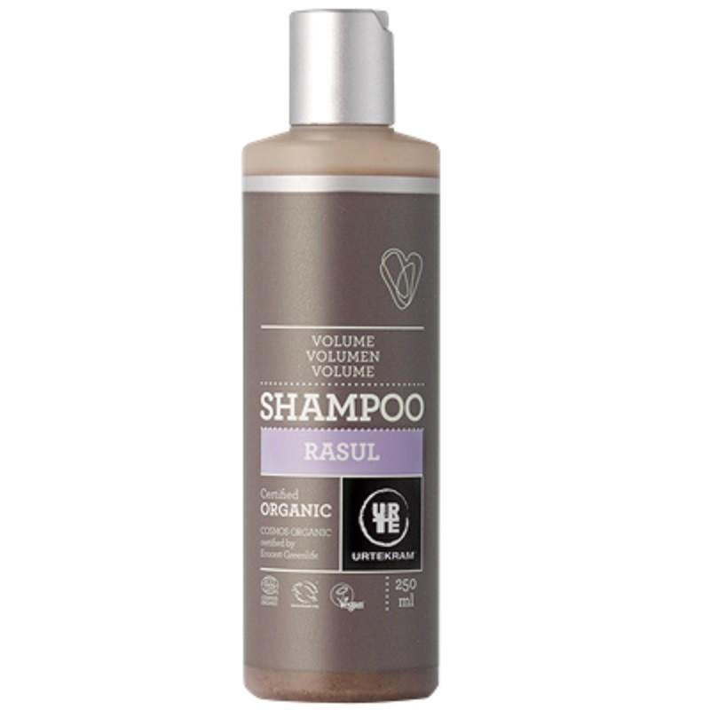 Kohevust lisav rasul(mineraalsavi) šampoon Urtekram, 250 ml
