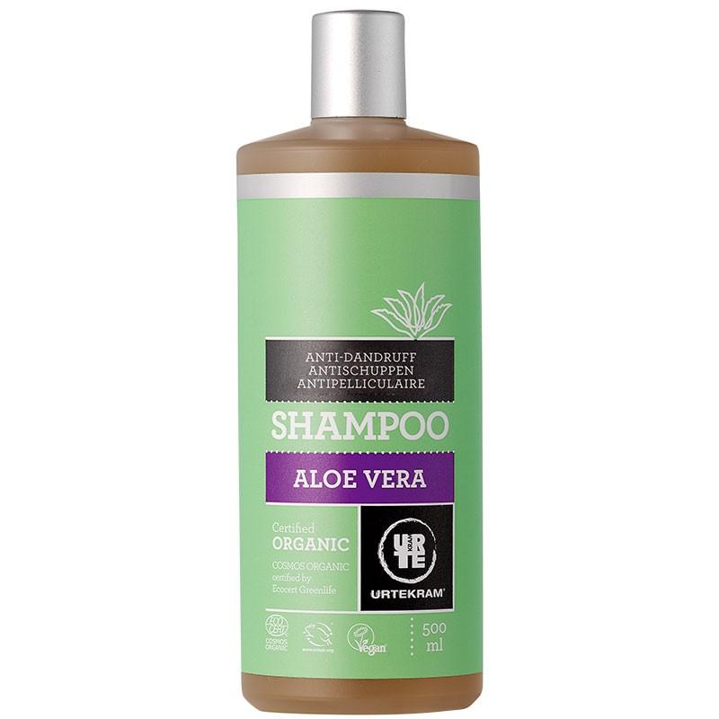 Aloe Vera kõõmavastane šampoon Urtekram, 500 ml