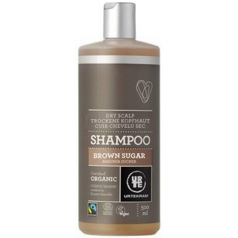 Pruunisuhkru šampoon Urtekram, 500 ml