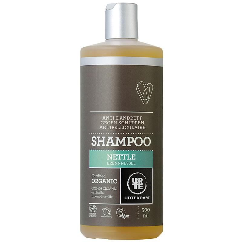 Nõgese šampoon, kõõmavastane Urtekram, 500 ml