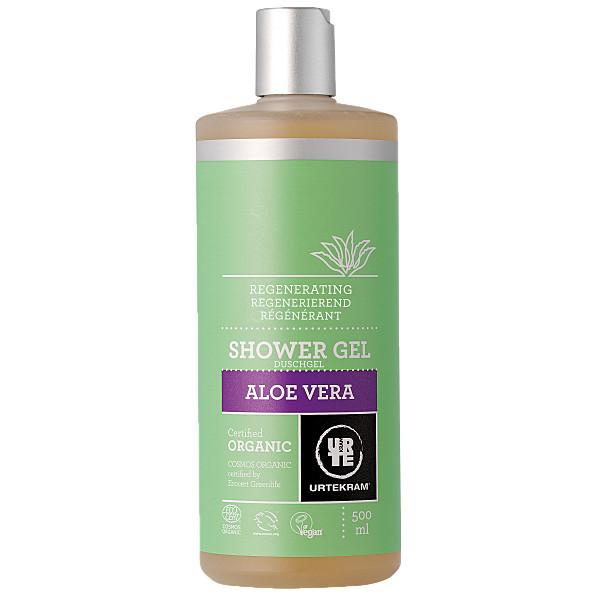 Aloe Vera dušigeel Urtekram, 500 ml