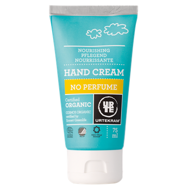 Parfüümivaba kätekreem Urtekram, 75 ml