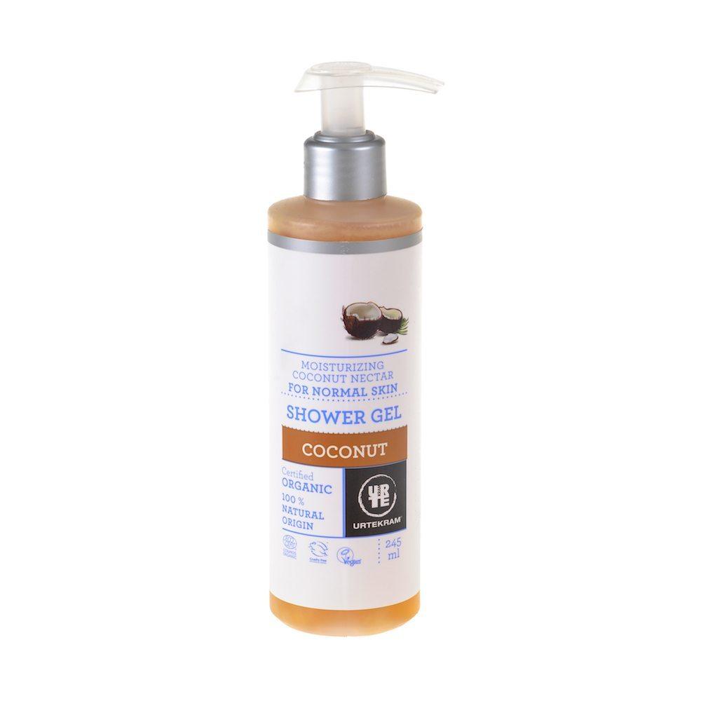 Kookose dušigeel Urtekram, 245 ml