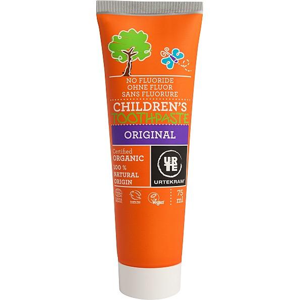 Laste hambapasta flouriidivaba Urtekram, 75 ml