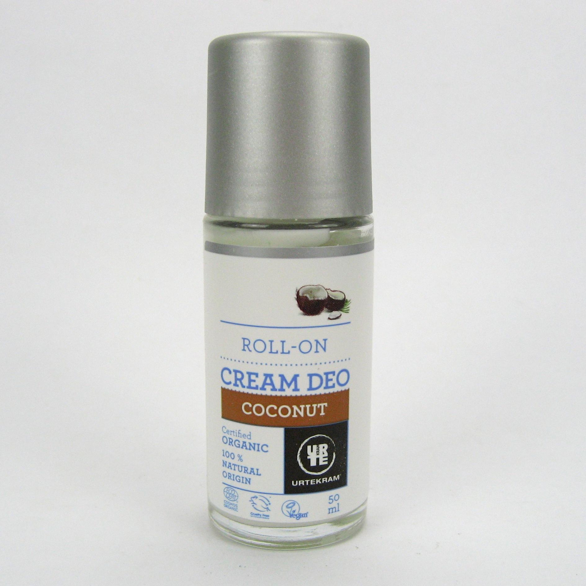 Kookose deodorant Urtekram, 50 ml