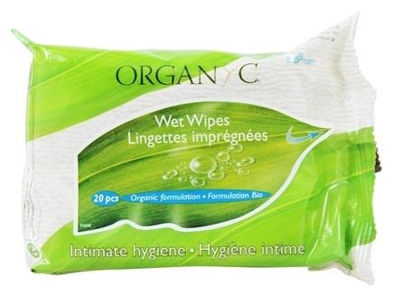 Intiimsalvrätikud Organyc, 20 tk