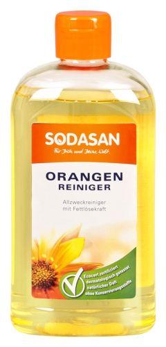 Apelsini üldpuhastusvahend, kontsentraat Sodasan, 500 ml