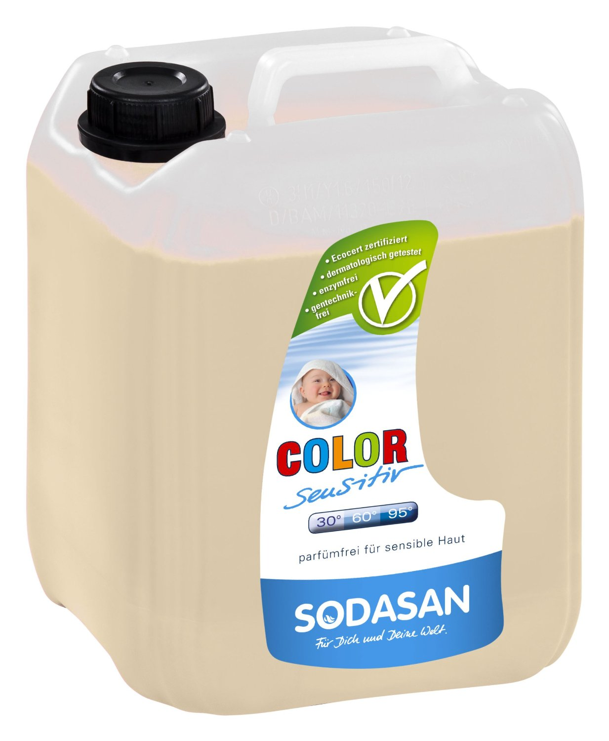 Color-sensitiv geel Sodasan, 5 l
