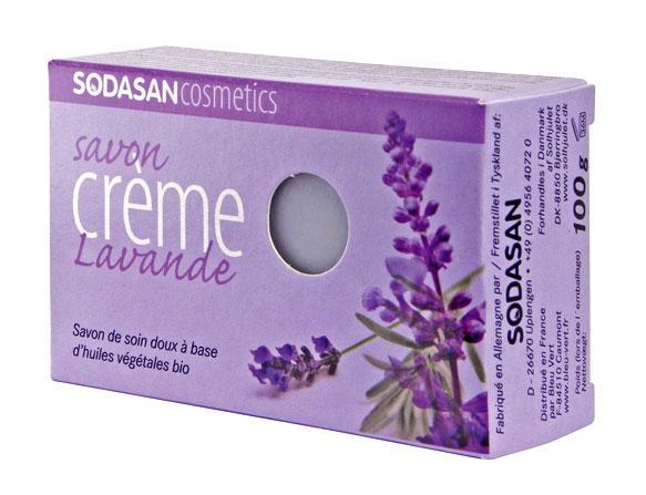 Ökoloogiline lavendli taimne seep Sodasan, 100 g