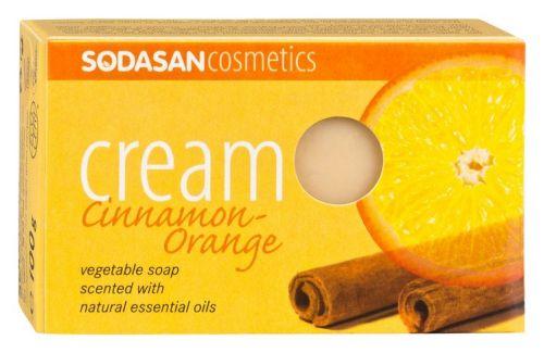 Ökoloogiline kaneeli-apelsini taimne seep Sodasan, 100 g