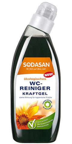 WC puhastusgeel tugevatoimeline Sodasan, 750 ml