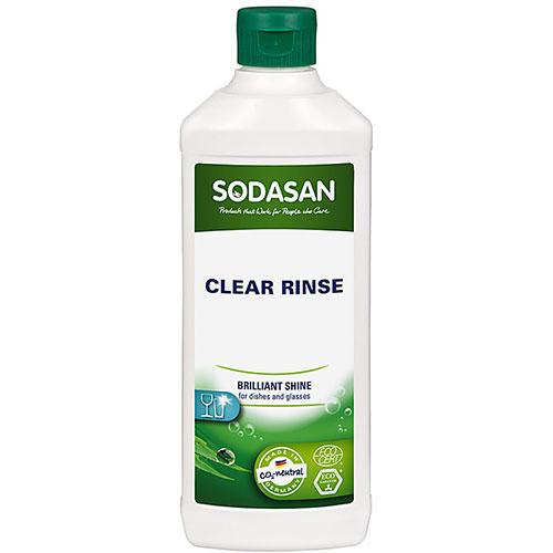 Clear Rinse nõudepesu loputusvahend masinapesuks Sodasan, 500 ml