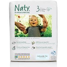 Mähkmed mini 4-9 kg Naty, 31 tk