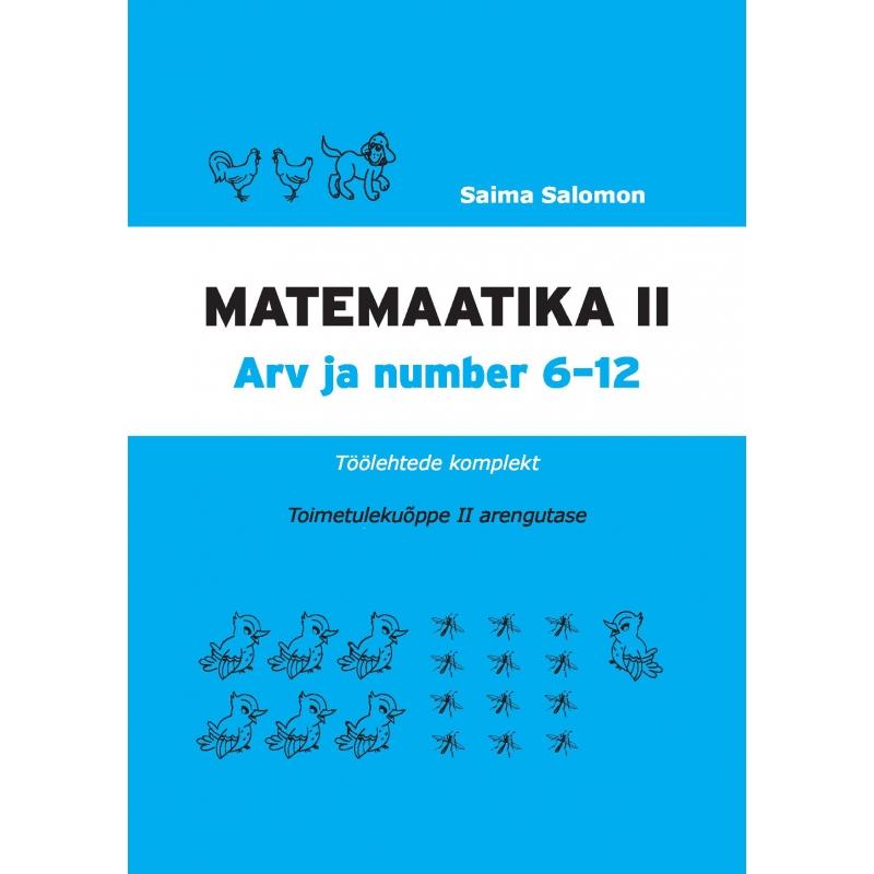 b8a9fda4344 Matemaatika töölehtede komplekt, II osa. II arengutase @ SA Innove e ...